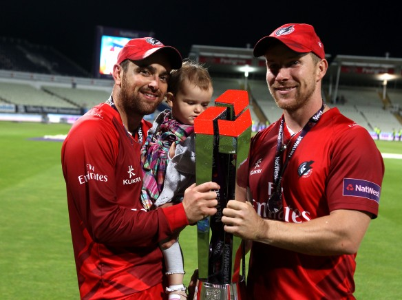 Winners Nat West t20 Blast Finals day Edgbaston LANCASHIRE COUNTY CRICKET CLUB V  Northants 29/08/15