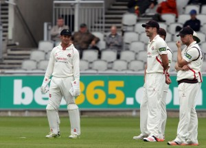 LANCASHIRE COUNTY CRICKET CLUB Emirates Old Trafford LV= County Championship Lancashire v Surrey 14/09/15