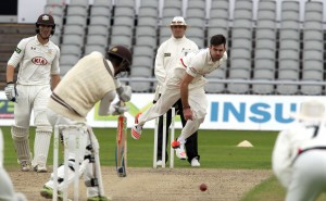 James Anderson LANCASHIRE COUNTY CRICKET CLUB Emirates Old Trafford LV= County Championship Lancashire v Surrey 14/09/15