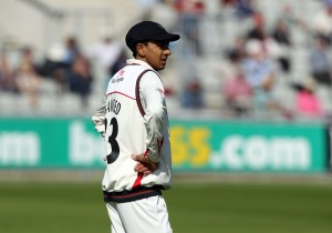 Haseeb Hameed LANCASHIRE COUNTY CRICKET CLUB Emirates Old Trafford LV= County Championship Lancashire v Surrey 15/09/15