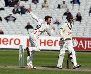 Arron Lilley LANCASHIRE COUNTY CRICKET CLUB Emirates Old Trafford LV= County Championship Lancashire v Surrey 15/09/15