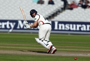 Karl Brown LANCASHIRE COUNTY CRICKET CLUB Emirates Old Trafford LV= County Championship Lancashire v Surrey 15/09/15