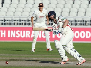 Karl Brown LANCASHIRE COUNTY CRICKET CLUB Emirates Old Trafford LV= County Championship Lancashire v Surrey 16/09/15