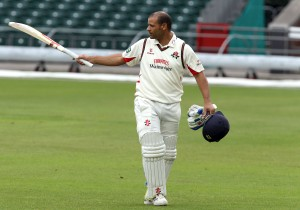 Ashwell Prince on his last day at Old Trafford LANCASHIRE COUNTY CRICKET CLUB Emirates Old Trafford LV= County Championship Lancashire v Surrey 17/09/15