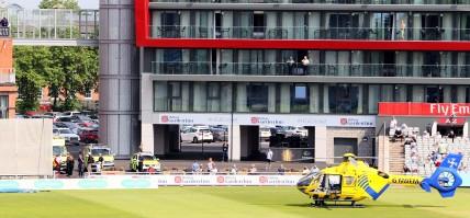 Lancs v essex air ambulance pdi photo and film1